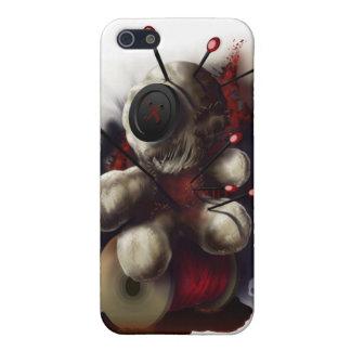Caso del iPhone 4 de la muñeca del vudú iPhone 5 Carcasa