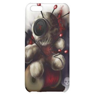 Caso del iPhone 4 de la muñeca del vudú