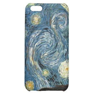 Caso del iPhone 4 de la noche estrellada de Van Go