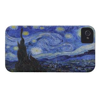 """Caso del iPhone 4 de la """"noche estrellada"""" de Vinc iPhone 4 Coberturas"""