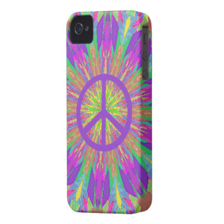 Caso del iPhone 4 de la paz con el teñido anudado  iPhone 4 Fundas