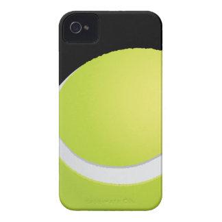 Caso del iPhone 4 de la pelota de tenis Case-Mate iPhone 4 Funda