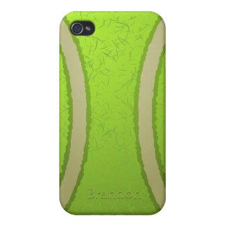 Caso del iPhone 4 de la pelota de tenis iPhone 4 Carcasa