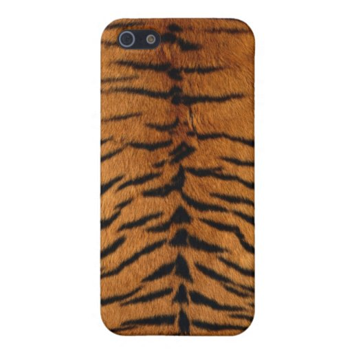 Caso del iPhone 4 de la piel del tigre iPhone 5 Protector