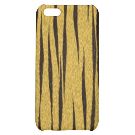 Caso del iPhone 4 de la piel del tigre