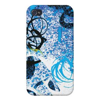 Caso del iPhone 4 de la pintada del remolino de Ho iPhone 4 Funda