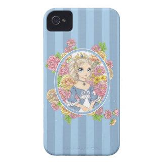 Caso del iPhone 4 de la princesa del cisne azul Case-Mate iPhone 4 Funda