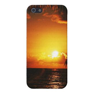 Caso del iPhone 4 de la puesta del sol iPhone 5 Carcasa