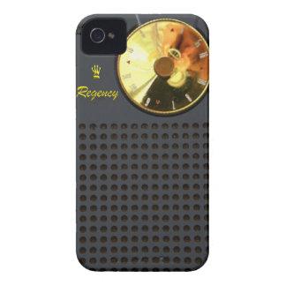 Caso del iPhone 4 de la radio de transistor de la iPhone 4 Case-Mate Carcasas