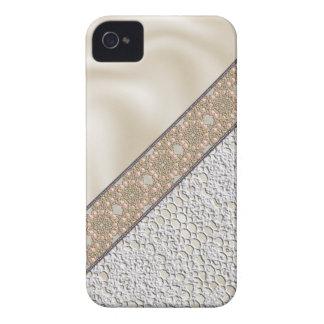 Caso del iPhone 4 de la seda y del cordón iPhone 4 Protector
