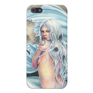 Caso del iPhone 4 de la sirena de la luna iPhone 5 Fundas