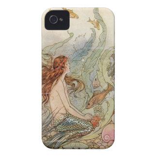 Caso del iPhone 4 de la sirena Funda Para iPhone 4 De Case-Mate