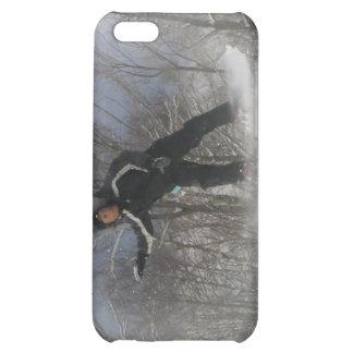 Caso del iPhone 4 de la snowboard 360