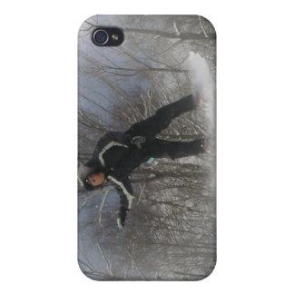 Caso del iPhone 4 de la snowboard 360 iPhone 4 Cárcasa
