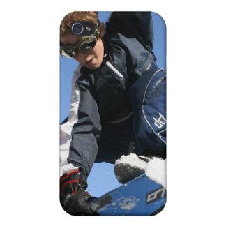 Caso del iPhone 4 de la snowboard del adolescente iPhone 4/4S Carcasa
