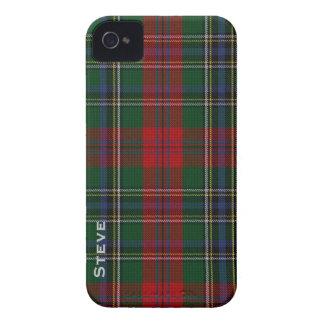 Caso del iPhone 4 de la tela escocesa de tartán iPhone 4 Case-Mate Cárcasas