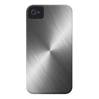 Caso del iPhone 4 de la textura del cromo Funda Para iPhone 4