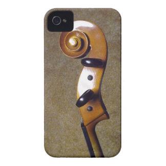 Caso del iPhone 4 de la voluta del violoncelo Case-Mate iPhone 4 Fundas