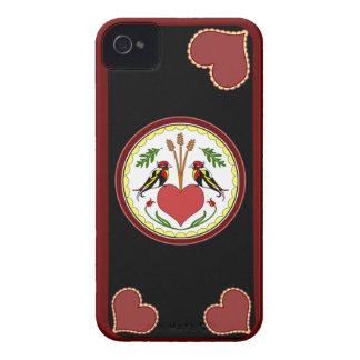 caso del iPhone 4 - de largo, maleficio feliz v2 iPhone 4 Carcasa