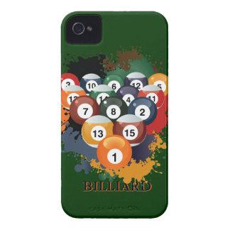 Caso del iPhone 4 de las bolas de billar de la pis iPhone 4 Coberturas