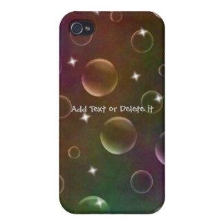 Caso del iphone 4 de las burbujas iPhone 4 cárcasa
