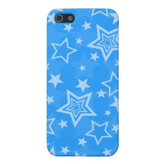 Caso del iPhone 4 de las estrellas azules iPhone 5 Cobertura