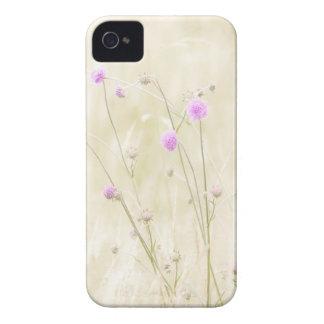 Caso del iPhone 4 de las flores salvajes Case-Mate iPhone 4 Cárcasas