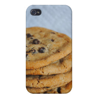 Caso del iPhone 4 de las galletas de microprocesad iPhone 4 Protector