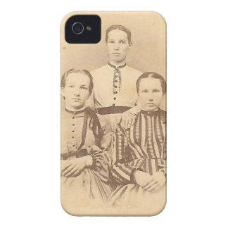 Caso del iPhone 4 de las hermanas Funda Para iPhone 4