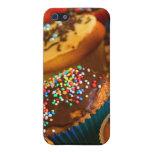 Caso del iphone 4 de las magdalenas iPhone 5 protectores