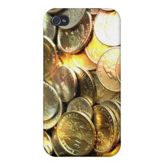 Caso del iPhone 4 de las monedas iPhone 4 Protector