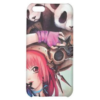 Caso del iPhone 4 de las pandas de Ninja del meloc