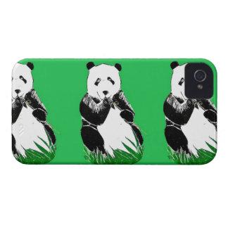 Caso del iPhone 4 de las pandas iPhone 4 Funda