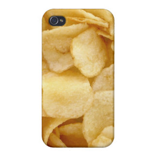 Caso del iPhone 4 de las patatas fritas iPhone 4 Fundas