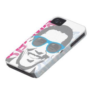 Caso del iPhone 4 de las sombras de Barack Obama Case-Mate iPhone 4 Protectores