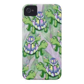 Caso del iphone 4 de las tortugas iPhone 4 Case-Mate carcasas