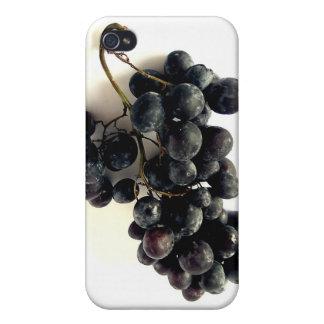 Caso del iPhone 4 de las uvas iPhone 4 Carcasas