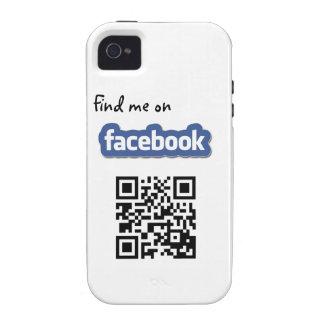 Caso del iPhone 4 de los amigos de Facebook iPhone 4/4S Carcasa