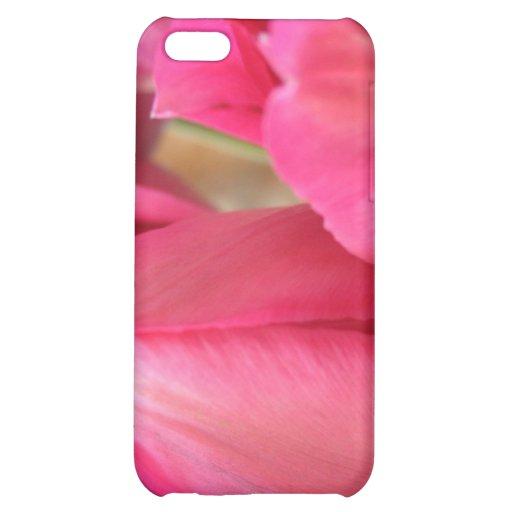 Caso del iPhone 4 de los bulbos del tulipán