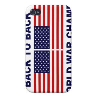 Caso del iPhone 4 de los campeones de la guerra mu iPhone 4 Cárcasas