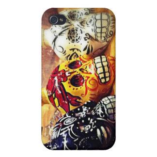 Caso del iPhone 4 de los cráneos del azúcar iPhone 4 Cobertura