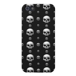 Caso del iPhone 4 de los cráneos iPhone 5 Cárcasas