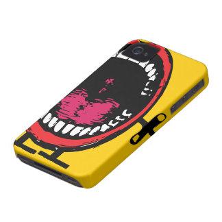 Caso del iPhone 4 de los dientes de la charla iPhone 4 Case-Mate Cárcasas