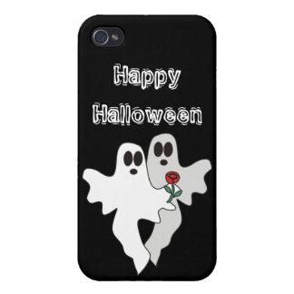 Caso del iPhone 4 de los fantasmas de Halloween iPhone 4 Cárcasa