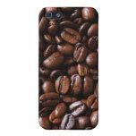Caso del iPhone 4 de los granos de café iPhone 5 Protector