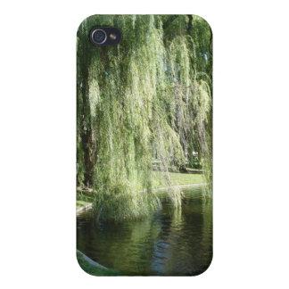 Caso del iPhone 4 de los jardines públicos de Bost iPhone 4 Cárcasa