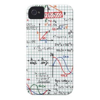Caso del iPhone 4 de los números de fórmulas de la iPhone 4 Cárcasa