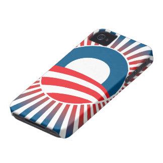 Caso del iPhone 4 de los rayos de esperanza de iPhone 4 Case-Mate Protectores