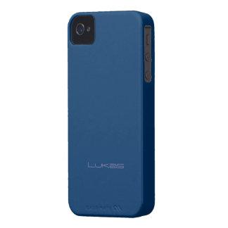Caso del iphone 4 de Lukas Carcasa Para iPhone 4 De Case-Mate