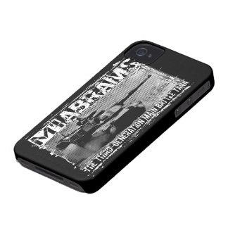 Caso del iPhone 4 de M1 Abrams Carcasa Para iPhone 4 De Case-Mate